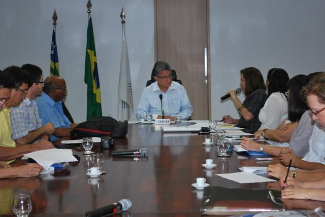 Reitor se reúne com Coordenadores do PARFOR/UFPI